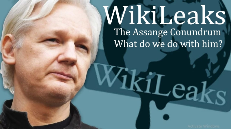 The Wikileaks Julian Assange Conundrum What do we do with him?