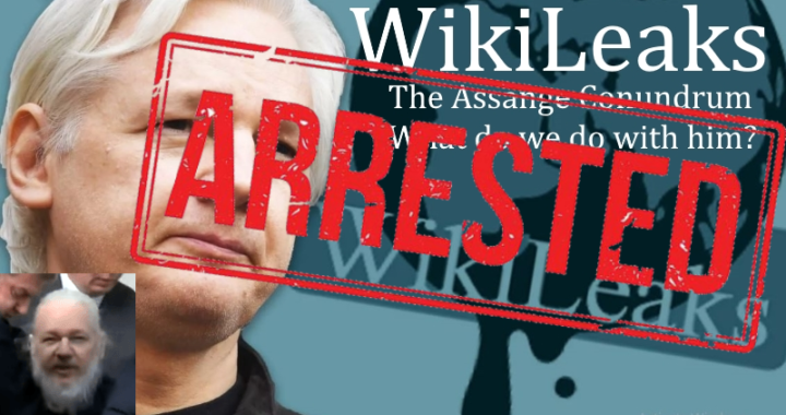 Julian Assange is ARRESTED by British authorities after Ecuador pulls asylum